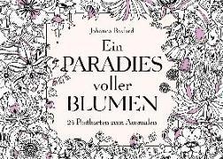 Cover-Bild zu Basford, Johanna: Ein Paradies voller Blumen