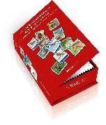 Cover-Bild zu Postkartenbox 50 Tier-Briefmarken als Postkarten