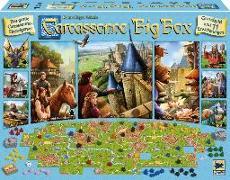 Cover-Bild zu Carcassonne, Big Box 2017 - Hans im Glück Spiel