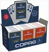 Cover-Bild zu AGM Display COPAG POKER PVC, Jumbo Face Mixed rot/blau
