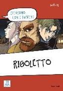 Cover-Bild zu L'italiano con i fumetti: Rigoletto
