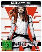 Cover-Bild zu Black Widow 4K UHD Edition (Steelbook) von Cate Shortland (Reg.)