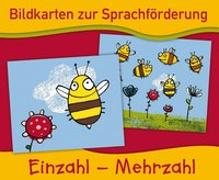 Cover-Bild zu Bildkarten zur Sprachförderung: EINZAHL - MEHRZAHL - Neuauflage
