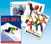 Cover-Bild zu Ski Art. Playing Cards. SF