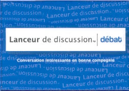 """Cover-Bild zu Lanceur de Discussion """"Débat"""""""