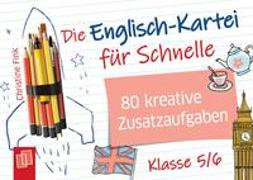 Cover-Bild zu Die Englisch-Kartei für Schnelle von Fink, Christine