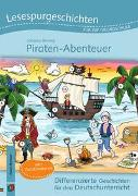 Cover-Bild zu Lesespurgeschichten für die Grundschule - Piraten-Abenteuer von Berning, Johanna