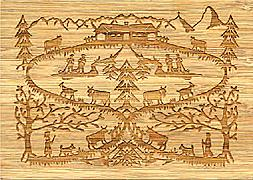 Cover-Bild zu 27331 Bambus Alpaufzug GVA_Swiss_Icons102