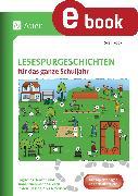 Cover-Bild zu Lesespurgeschichten für das ganze Schuljahr (eBook) von Rook, Sven