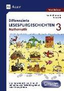 Cover-Bild zu Differenzierte Lesespurgeschichten Mathematik 3 von Blomann, Sandra