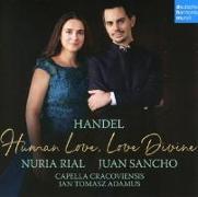 Cover-Bild zu Handel - Human Love, Love Divine von Rial, Nuria
