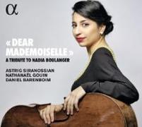 Cover-Bild zu Dear Mademoiselle - A Tribute to Nadia Boulanger von Gouin, Nathanäel (Dir.)