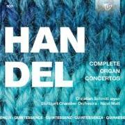 Cover-Bild zu Händel: Complete Organ Concertos von Schmitt, Christian (Solist)