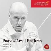 Cover-Bild zu Symphonies No. 3 & No. 4 von Brahms, Johannes (Komponist)