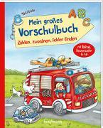 Cover-Bild zu Mein großes Vorschulbuch - Zählen, zuordnen, Fehler finden von Lamping, Laura
