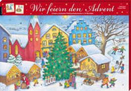 Cover-Bild zu Wir feiern den Advent. Ein Adventskalender von Simon, Katia