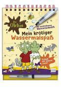 Cover-Bild zu Die Olchis - Mein krötiger Wassermalspaß (Magic Water Colouring)