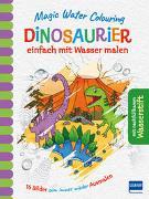 Cover-Bild zu Magic Water Colouring - Dinosaurier von Copper, Jenny