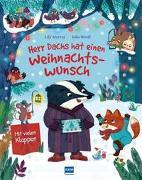 Cover-Bild zu Herr Dachs hat einen Weihnachtswunsch - Eine Weihnachtsmärchen für Kinder ab 3 Jahren von Murray, Lily