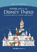 Cover-Bild zu Art of Coloring: Poster Art of the Disney Parks: 36 Postcards to Inspire Creativity von Imagineers the