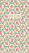 Cover-Bild zu Cath Kidston Provence Rose Slimline 2020 Diary von Kidston, Cath