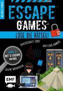 Cover-Bild zu Escape Games Level 3 (blau) - Löse die Rätsel! - 12 Escape Games ab der 6. Klasse von Durand, Arnaud