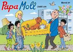 Cover-Bild zu Papa Moll zieht um