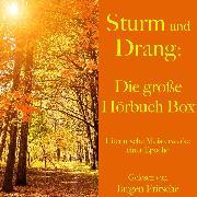 Cover-Bild zu Sturm und Drang: Die große Hörbuch Box (Audio Download) von Schiller, Friedrich