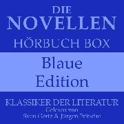Cover-Bild zu Die Novellen Hörbuch Box - Blaue Edition (Audio Download) von Kafka, Franz