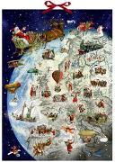 Cover-Bild zu Behr, Barbara (Illustr.): Wandkalender - Der Dienstplan des Weihnachtsmanns