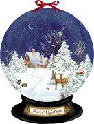 Cover-Bild zu Behr, Barbara (Illustr.): Wandkalender - Nostalgische Schneekugel