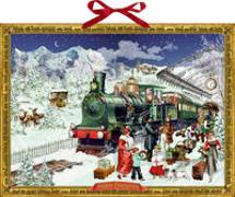 Cover-Bild zu Behr, Barbara (Illustr.): Wandkalender - Nostalgische Eisenbahn