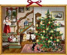Cover-Bild zu Behr, Barbara (Illustr.): Wandkalender - Weihnachten bin ich zu Haus