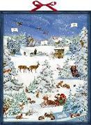 Cover-Bild zu Behr, Barbara (Illustr.): Zettelkalender - Winterwunderland