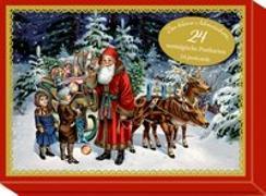 Cover-Bild zu Behr, Barbara (Illustr.): Schmuckschachtel - Der kleine Adventsschatz