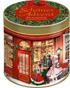 Cover-Bild zu Behr, Barbara (Illustr.): Sprüchedose - Schöner Advent