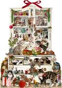 Cover-Bild zu Behr, Barbara (Illustr.): Zettelkalender - Katzen im Advent