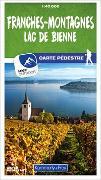 Cover-Bild zu Franches-Montagnes / Lac de Bienne 10 Wanderkarte 1:40 000 matt laminiert. 1:40'000