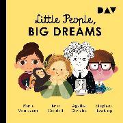 Cover-Bild zu Little People, Big Dreams (Audio Download) von Vegara, María Isabel Sánchez