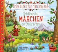 Cover-Bild zu Grimm, Jacob und Wilhelm: Reise durch das Märchenland - Die beliebtesten Märchen der Brüder Grimm (Audio-CD)
