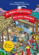 Cover-Bild zu Die Weihnachtsgeschichte - Mein Vorlese-Wimmelbuch von Spiecker, Agnes