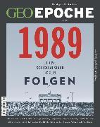 Cover-Bild zu GEO Epoche 95/19 - 1989 (eBook) von Redaktion, GEO Epoche