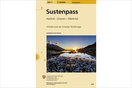 Cover-Bild zu Sustenpass. 1:50'000