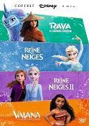 Cover-Bild zu Princesses Boxset 2021 ( Frozen 1+2, Vaiana, Raya and the last Dragon) von Animation (Schausp.)