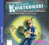 Cover-Bild zu Banscherus, Jürgen: Ein Fall für Kwiatkowski 01. Die Kaugummiverschwörung. CD