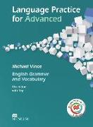 Cover-Bild zu Language Practice for Advanced. Student's Book with MPO and Key von Vince, Michael