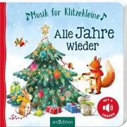Cover-Bild zu Musik für Klitzekleine: Alle Jahre wieder von Jatkowska, Ag (Illustr.)