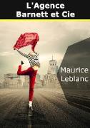 Cover-Bild zu eBook Arsène Lupin : L'agence Barnett et Cie