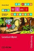 Cover-Bild zu Mimi, die Lesemaus 1. Schuljahr. Zu allen Ausgaben. Zu Haus bei Mimi Lesemaus. Leselernspiel auf CD-ROM