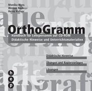 Cover-Bild zu Orthogramm. Handbuch für Lehrpersonen auf CD-ROM